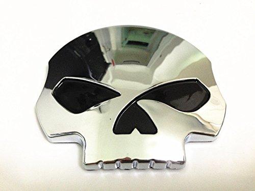 3d Chrome Skull Skeleton Fuel Gas Tank Pad Sticker Decal For Suzuki Gsxr Honda Cbr Kawasaki Zx6r Yamaha R1 R6