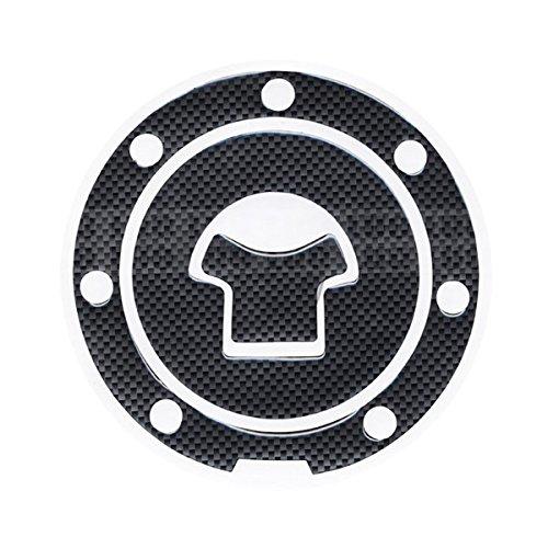 Motorbike Racing Fiber Fuel Gas Cap cover Tank Protector Pad Sticker Decal For Honda CBR 600 F2  F3  F4  F4i  F5
