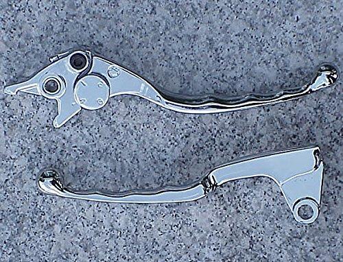 i5 Chrome Brake Clutch Levers for Kawasaki Vulcan 500 800 900