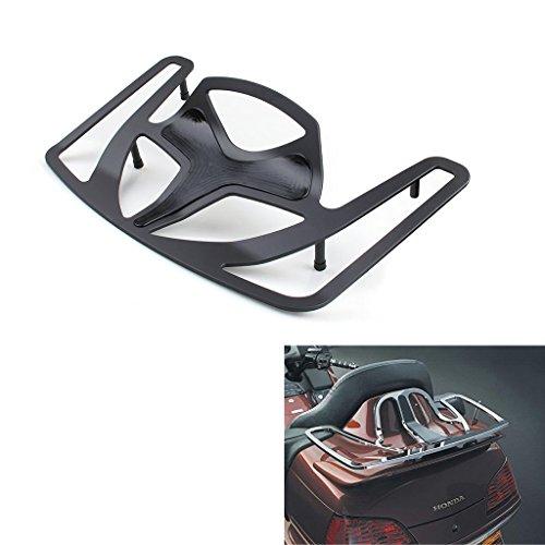Motorcycle Solo Seat Luggage Rack Cargo Travel For Honda Goldwing GL1800 2001-2016 Black