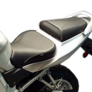 Sargent World Sport Performance Hypermotard Seat - Standard Seat HeightBlack Accents
