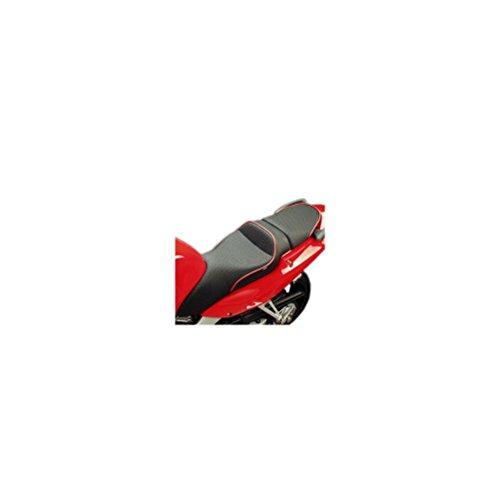 Sargent World Sport Seat Black W Red Welts for Honda VFR800 Interceptor 1998-01
