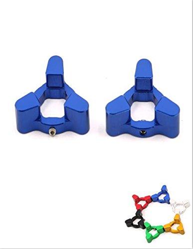 Alpha Rider CNC Fork Preload Adjusters Screw Cap For DUCATI Desmosedici RR 2008 YAMAHA FZ1 2006-2010 R6 2009-2010 R1 1998-2010 Blue