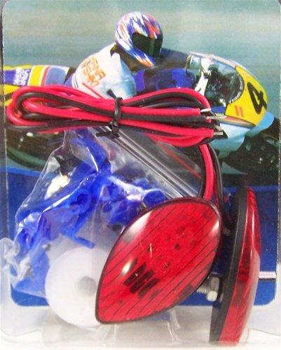 YANA SHIKI YANASHIKI - Turn Signal Front mount - Red for Honda CBR F4 F4I6001000 RR Product code YNSK-TS01R