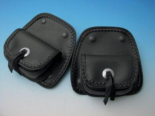 Hopnel HD90-110BK Lower Fairing Pockets