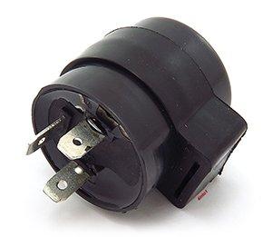 12V LED Turn Signal Flasher Relay - 3 Prong - Round Style