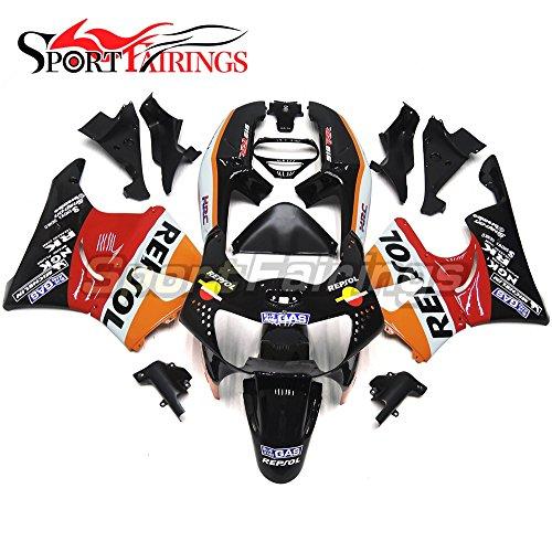 Sportfairings Motorbike Fairing Kit For Honda CBR900RR CBR900 RR 919 1998 1999 Bodywork Orange Black Full Cover
