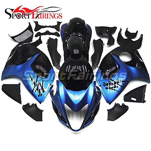 Sportfairings Motorbike Fairing Kit For Suzuki GXSR1300 GSX-R GSXR 1300 Hayabusa 2008 09 10 11 12 13 14 15 Injection ABS Pearl Blue Black Full Cover