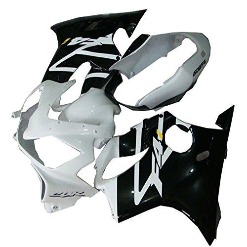 Black Silver Plastic for Motorbike Fairing Kit Fit for Honda 2004-2007 CBR600 F4I