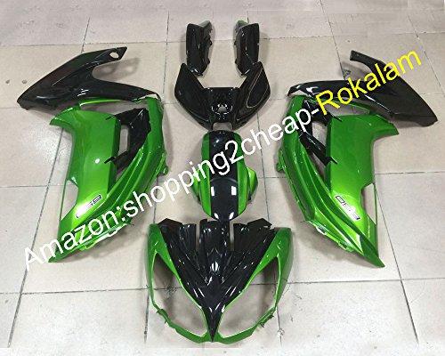Hot SalesFor Kawasaki Ninja 650R ER6F ER 6F 2012 2013 2014 2015 ER-6F 650 R 12 13 14 15 Green Black Road Motorbike Fairing Kit