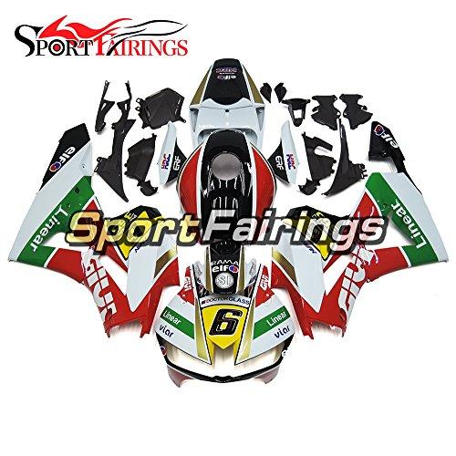Sportfairings Motorbike Fairing Kit For Honda CBR600-RR CBR600RR F5 13 14 15 16 2013 2014 2015 2016 White Green Yellow Cowling Frames