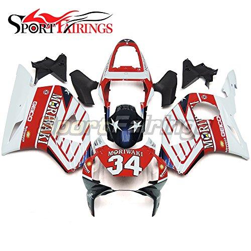 Sportfairings Motorbike Fairing Kits For Honda CBR900RR 954 2002 2003 ABS Injection Bodyworks Red Blue White
