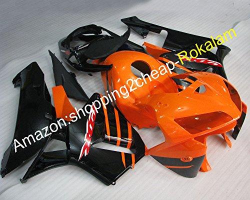Hot SalesFor Honda CBR600RR 05 06 CBR 600RR CBR 600 RR F5 2005 2006 ABS Plastic Motorbike bodyworks Fairings set Injection molding