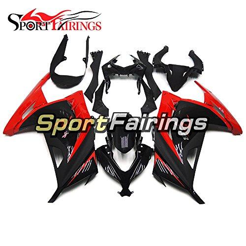 SportFairings ABS Plastics Injection Red Black Motorcycle Fairing Kits For Kawasaki EX300R Ninja 300 Year 2013 - 2015 13 14 15 Motorbike Bodywork Cowling