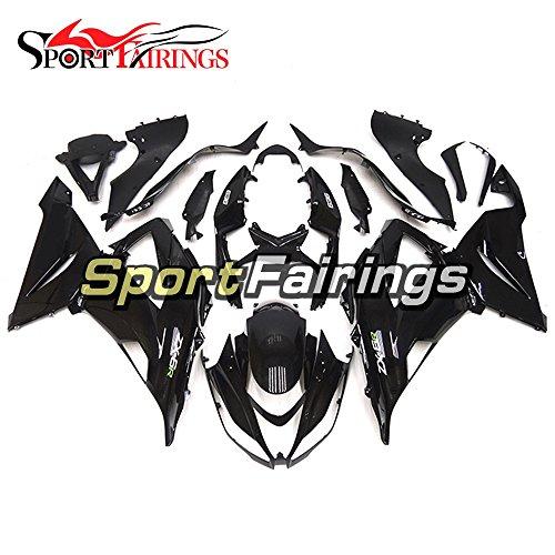 Sportfairings Motorcycle Fairing Kits For Kawasaki ZX6R Ninja636 Year 2013 - 2016 13 14 15 16 Gloss Black Injection ABS Plastics Motorbike Bodywork Body Frames