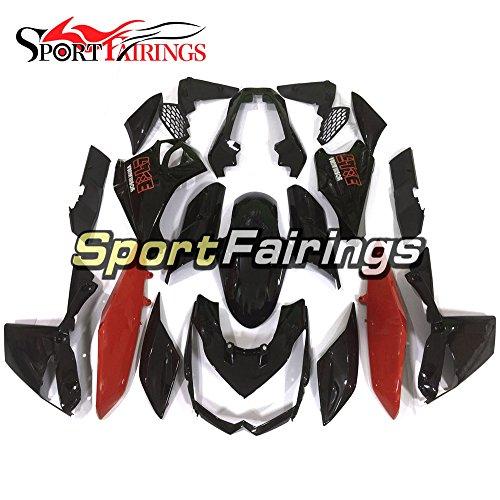 Sportfairings Red Black ABS Plastics Injection Motorcycle Fairing Kits For Kawasaki Z1000 Year 2010 2011 2012 2013 Motorbike Bodywork Body Frames