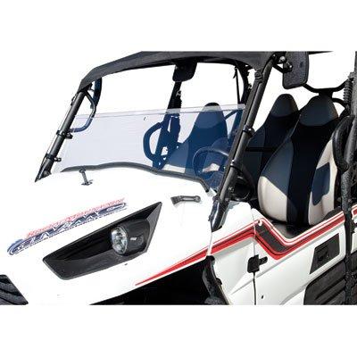 Tusk UTV Hinged Windshield 2-inch -Fits Kawasaki Teryx 750 2008-2013