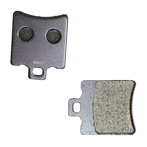 CNBK Front Right Disc Brake Pads Semi Metallic fit MOTO-MORINI Street Bike 400 S 1 Pair2 Pads
