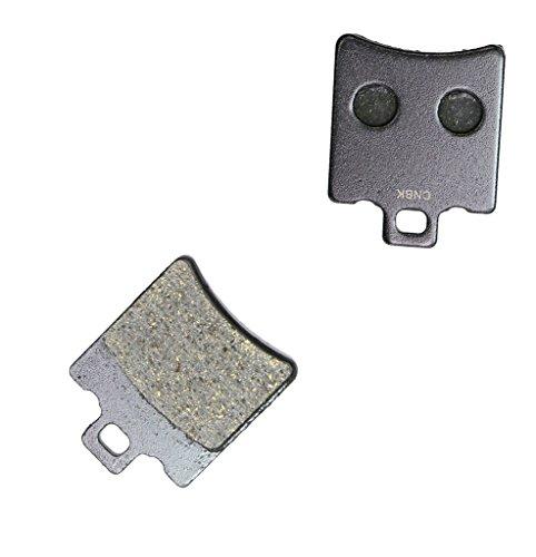CNBK Rear Brake Pads Semi-Metallic fit for MOTO-MORINI Street Bike RLX350 RLX 350 Excalibur 90up 1990up 1 Pair2 Pads