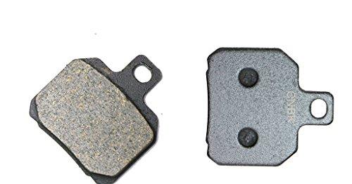 CNBK Rear Brake Shoe Pads Semi-Metallic fit for MOTO-MORINI Street Bike 1200 Corsaro Avio 08 09 2008 2009 1 Pair2 Pads