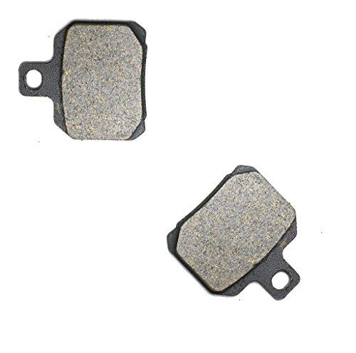 CNBK Rear Disc Brake Pads Carbon for MOTO-MORINI Street Bike 1200 Corsaro 05 06 07 08 09 10 2005 2006 2007 2008 2009 2010 1 Pair2 Pads