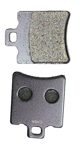 CNBK Rear Disc Brake Pads Resin fit for MOTO-MORINI Street Bike 400 Dart 89up 1989up 1 Pair2 Pads