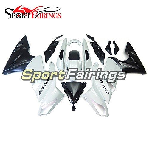 Sportfairings Plastic ABS Fairing kits For Kawasaki Ninja 650R ER-6F Year 2009 2010 2011 Full Covers White Pearl Black Motorbike Body Frames