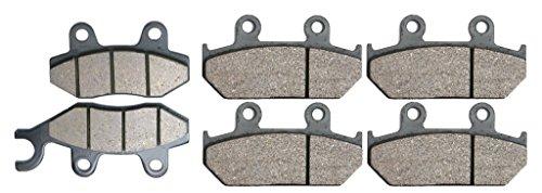 CNBK Carbon Brake Shoe Pads Set for CAGIVA Street Bike 750 cc 750cc Elefant E 93 94 95 1993 1994 1995 6 Pads