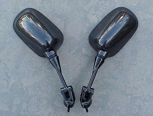 i5 Carbon Mirrors for Kawasaki Ninja ZX6 ZX6R ZX6RR 2005-2008 ZX10 ZX10R 2004-2007