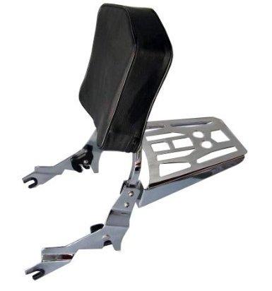 Detachable Sissy BarBackrest and Luggage Rack For Harley Davidson Sportster 1994-2003 XL Models