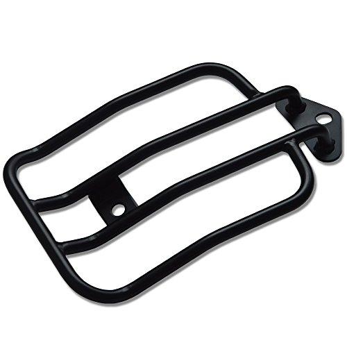 "Tjmoto 10"" Black Solo Seat Luggage Rack For Harley-davidson Sportster Xl883 1200 (2004-2015)"