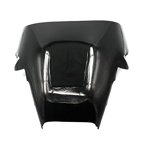 Alpha Rider Motorcycle Black Windscreen Windshield for Honda VFR800 VFR 800 1998 1999 2000 2001