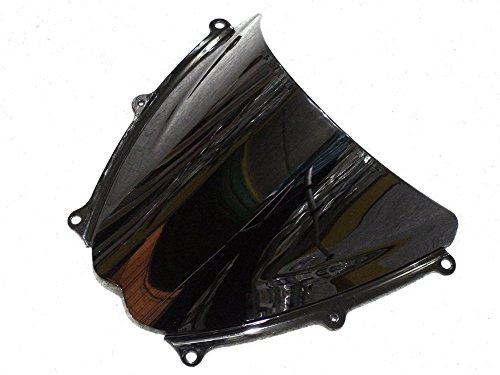 GZYF Smoke Tinted Windscreen Windshield For Suzuki GSXR 1000 2007 2008 Black 07 08 65YF004