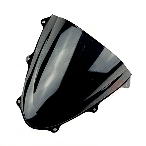 New Smoke Tinted Windscreen Windshield For Suzuki GSXR 600 750 2006 2007 06 07 K6 Black