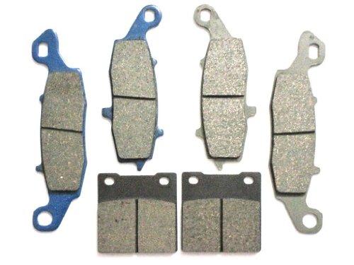 Master Chen Front Rear Brake Pads Brakes for Suzuki SV 650 S GSX 750 Katana FA231F FA229F FA063R MC0151-PAD