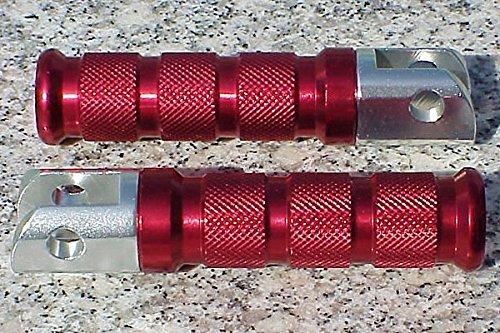 i5 Red Foot Pegs for Suzuki SV 650 GSXR 600 750 1000 TL Hayabusa