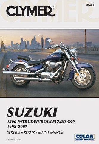1998-2007 Suzuki 1500 IntruderBoulevard C50 CLYMER MANUAL SUZ 1500 INTRUDERBOULEVARD C50 98-09 Manufacturer CLYMER Manufacturer Part Number M261-2-AD Stock Photo - Actual parts may vary