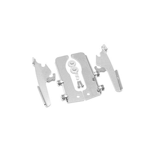 Memphis Shades MEM8979 Trigger-Lock Mounting Kit Polished for Suzuki VL800 Boulevard C50 and Intruder 2001 - 2013