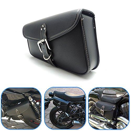 Motorcycle Swingarm Bag KEMIMOTO Side Tool Bags for Sportster XL 1200 883 Honda Shadow Night Rod Special Kawasaki Yamaha Suzuki