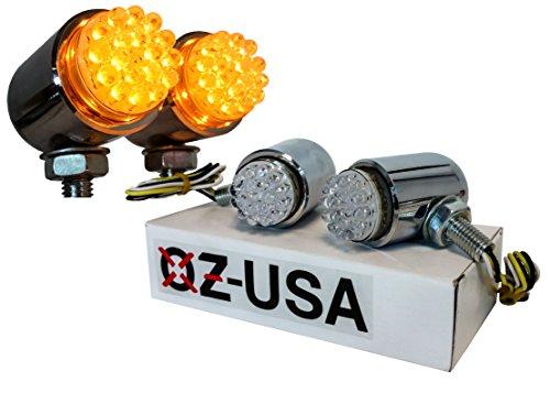 Running Light OZ-USA Amber LED Turn Signal Harley Sportster Xl 1200 Fx Road Glide King Led Custom