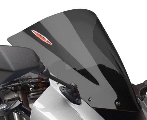 Powerbronze 400-K119-002 dark tint Airflow double bubble screen to fit Kawasaki Ninja ZX10-R