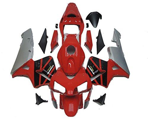 Red Fairing Kit Plastic for Honda 2003 2004 CBR600RR Injection Mold Bodywork Plastic