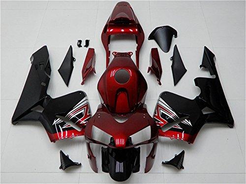 NT Fairing Fairing Kit Plastic Bodywork Fit for HONDA 2003 2004 CBR600RR Injection Mold ABS Red Motorcycle Bodyframe