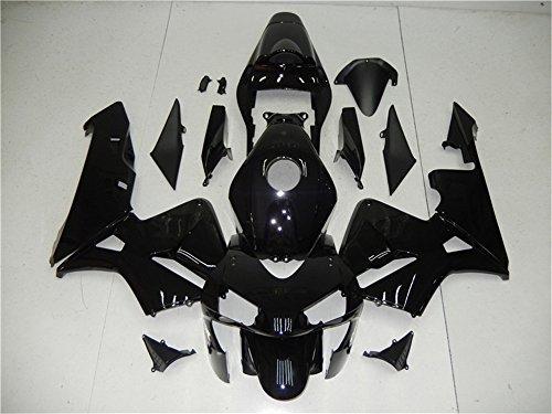 2003 2004 Fit for HONDA CBR600RR Injection mold Fairings Kit Body Kit Bodywork Plastic Gloss Black Bodyframe
