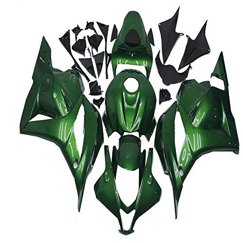 Green Fairing Kit Plastic for Honda 2009 2010 2011 2012 CBR600RR F5 Injection Mold Bodywork Plastic