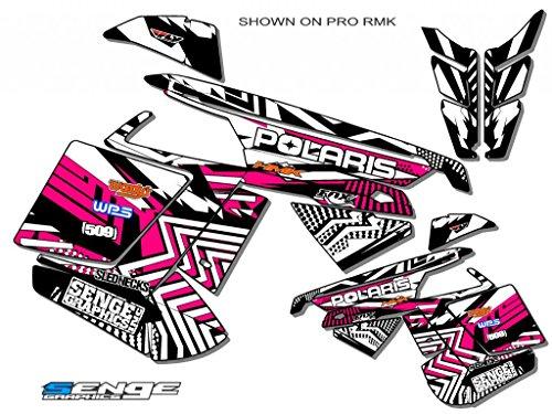 Senge Graphics ALL YEARS Polaris Edge Mayhem Pink Sled Wrap