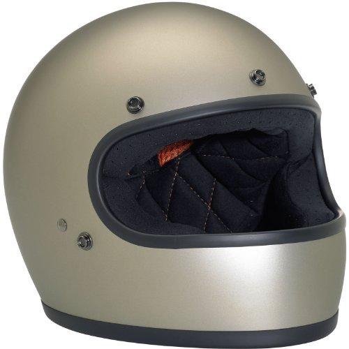 Biltwell Gringo Flat Helmet - LargeTitanium