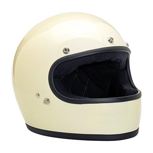 Biltwell Gringo Gloss Helmet - MediumVintage White