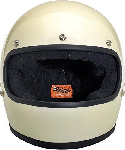 Biltwell Gringo Gloss Helmet - SmallVintage White