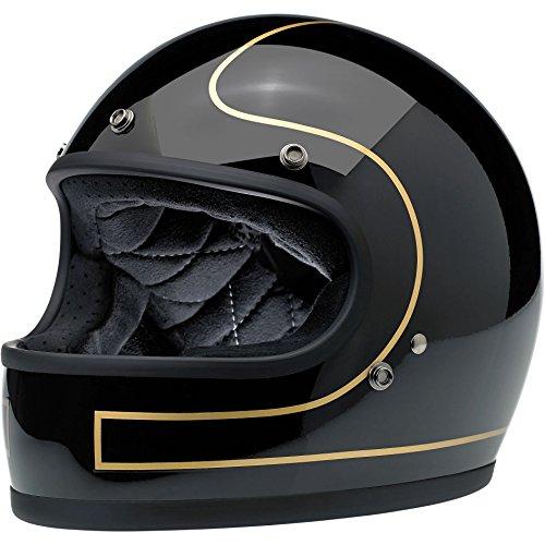 Biltwell Gringo Le Tracker Helmet Gloss BlackGold Small